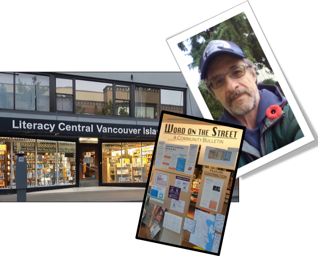 Literacy Central Vancouver Island (LCVI) with funding from the City of Nanaimo offering a voice of homeless community members